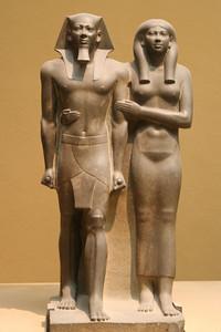 King Menkaura (Mycerinus) and queen IMG_9074