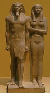 King Menkaura (Mycerinus) and queen IMG_9071