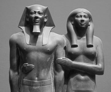 King Menkaura (Mycerinus) and Queen Khamerernebty  IMG_9068