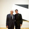 Ellsworth Kelly hosts a private dinner at the Phillips Collection.  Photo by Ben Droz