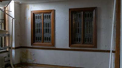 Leaded Glass Windows, Lobby