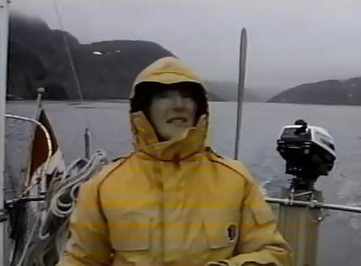 Helga on Erasmus in McLelan Strait