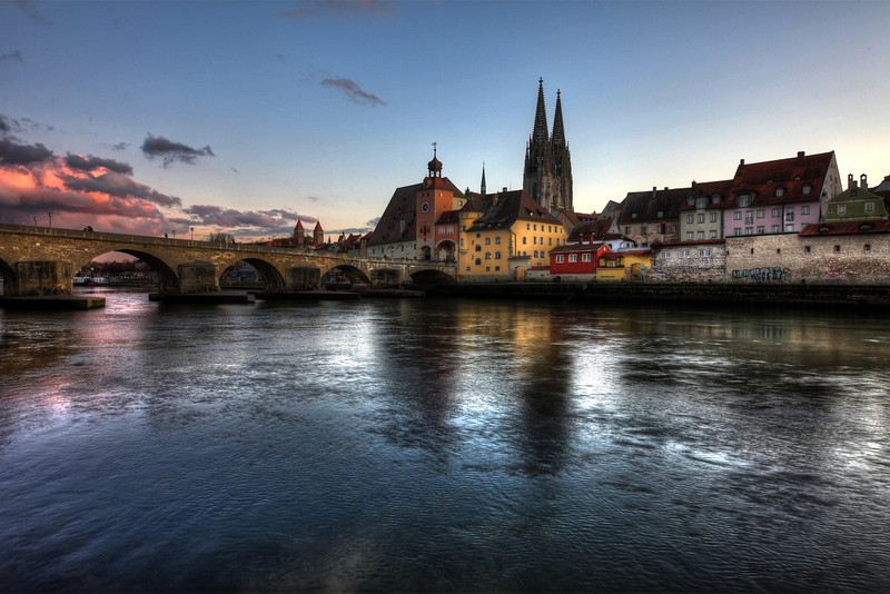 Regensburg - First Winter Days