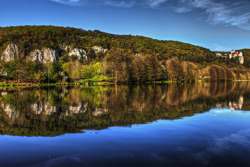 The River Altmühl in Bavaria