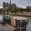 Notre Dame de Paris and Restaurant Boat