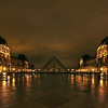 Pyramide du Louvre 3 - Louvre Paris - Night