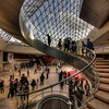 Helix-shaped Stairs - Louvre