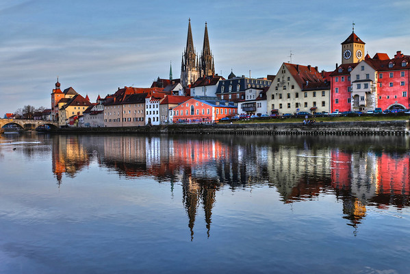 Regensburg - Old City by the River Danube