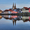 Regensburg - Old City by the River Danube