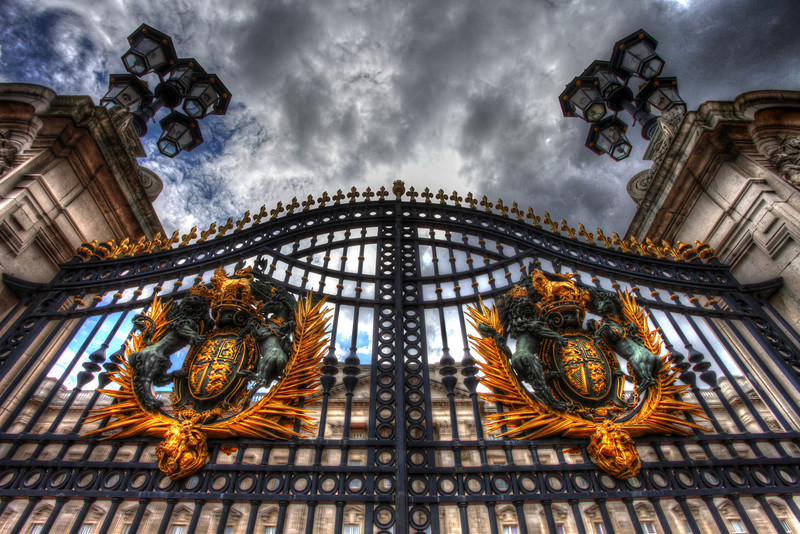 The Gate - At Buckingham Palace