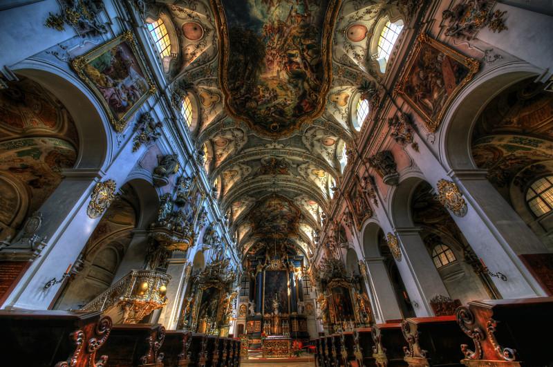 St Emmeram - Asam Church in Regensburg