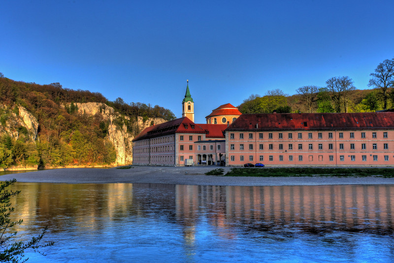 Weltenburg Abbey and the Danube Canyon