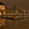 Pyramide du Louvre 4 - Louvre Paris - Night
