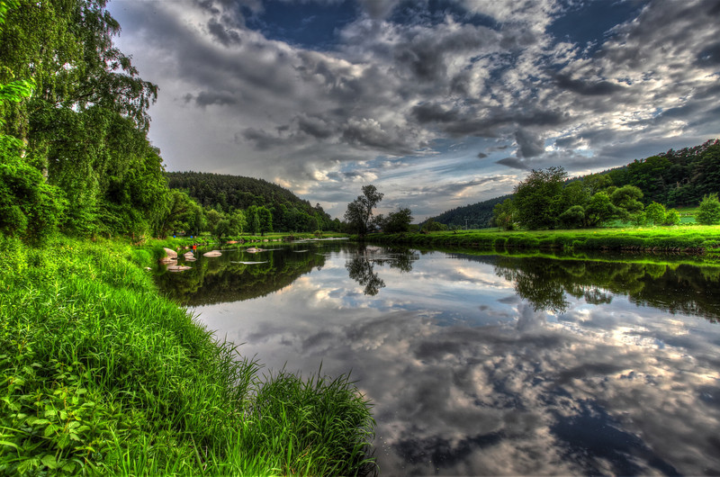 The River Regen Reflected 1