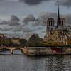 Ile de la Cité with Notre Dame