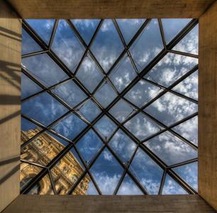 Square Pyramid - Louvre Paris
