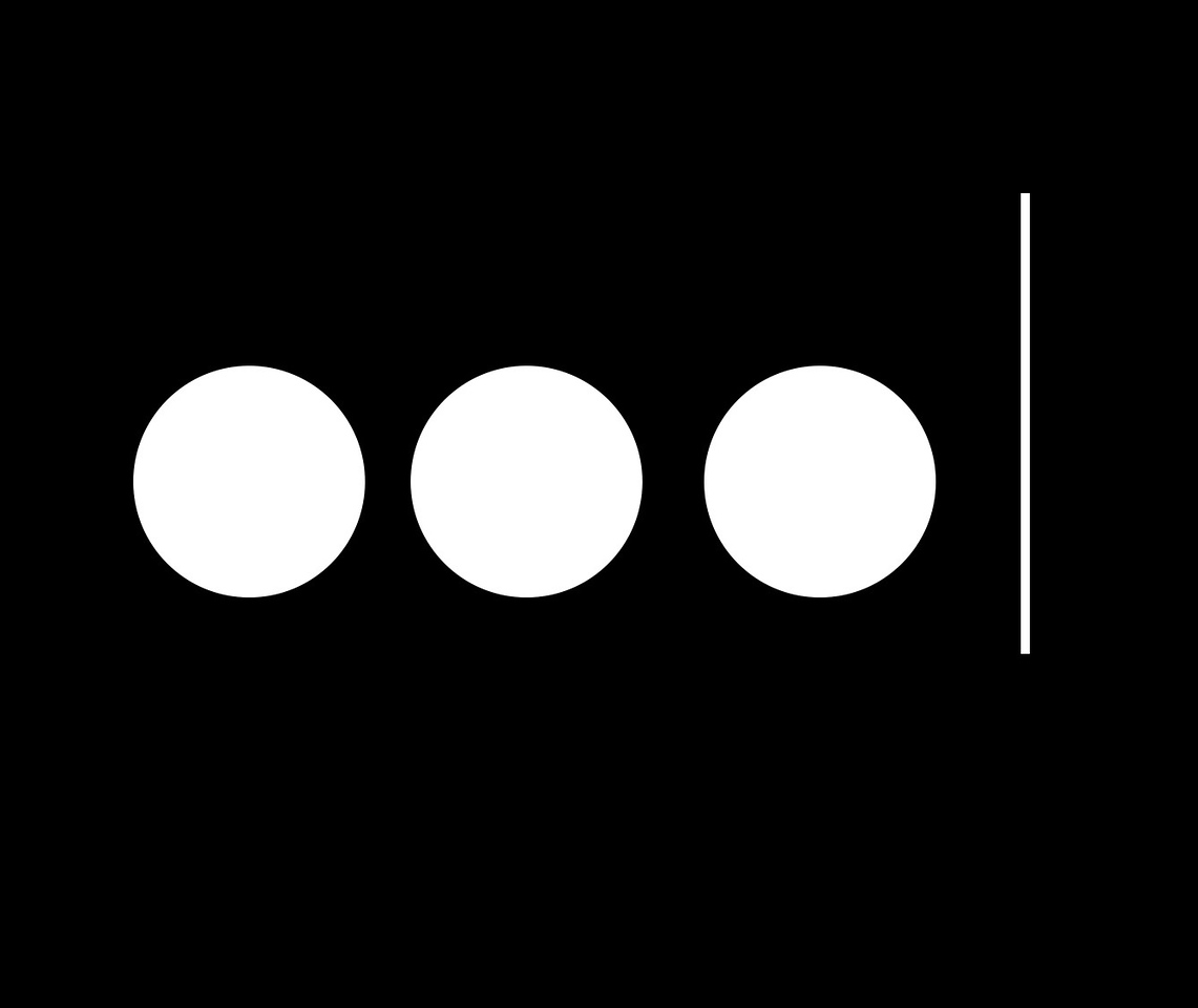 'Dot Dot Dot', Exhibition 2018 logo by Katie Wood