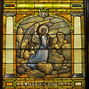 "This window and the next two form the ""Ascension Triptych."""