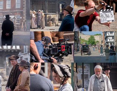 "FILMING ""PETERLOO"" IN LINCOLN"