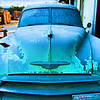 Chevy ... just needs paint<br /> 20 x 30 Float Mounted MetalPrint - High Gloss