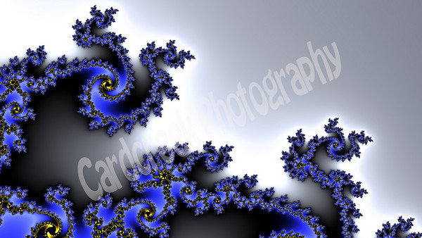 This is a Mandelbrot Fractal and is part of Cardcreek Design's Mandelbrot Fractal Gallery. Visit www.cardcreek.com to view more.
