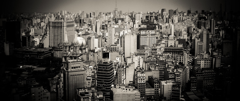 The massive city of Sao Paulo, Brazil - Love this place!