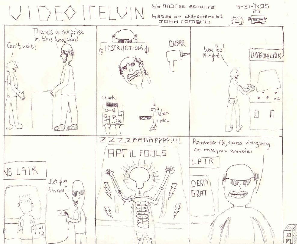 Video Melvin, by Andrew Schultz