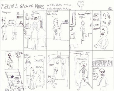 Melvin's Growing Pains, by Andrew Schultz