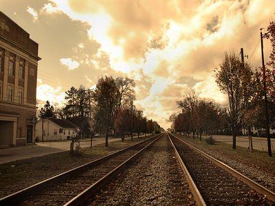 trains' a comin