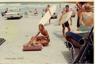 Cocoa Beach in the sixties