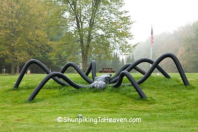 Rogue Spider, 2015 Farm Art DTour, Sauk County, Wisconsin