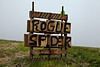 Sign for Rogue Spider, Sauk County, Wisconsin