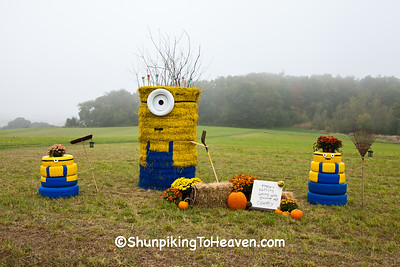 Minions, 2015 Farm/Art DTour, Sauk County, Wisconsin