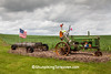 Patriotic Farm Display, Dubuque County, Iowa