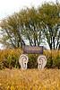 """The Listening Labyrinth"", 2014 Farm/Art DTour, Sauk County, Wisconsin"