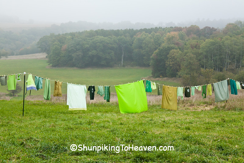 """""""Monday is Wash Day"""", Sauk County, Wisconsin"""