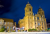 Night Photography at Christmas of the Basilica of Saint Lawrence 97 Haywood St.