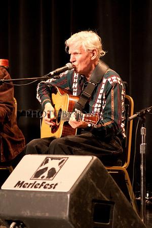 Photo of Doc Watson @ Merlefest 2011