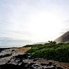 Lava-hugged Beach