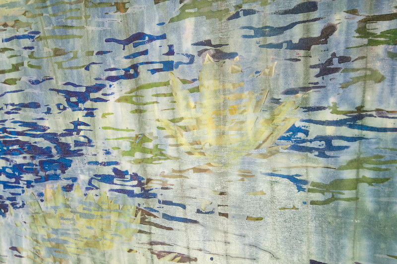 Lilly Pond III detail