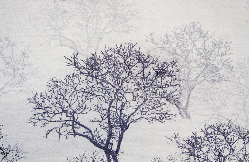 Trees in Fog, detail