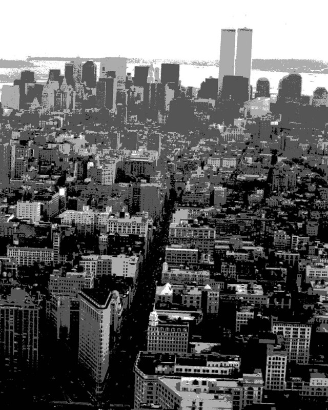 View From Empire State Building Looking South