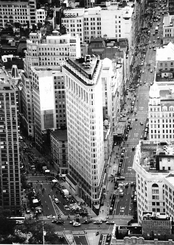 Flatiron Building<br /> New York, NY<br /> taken from top of the Empire State Building