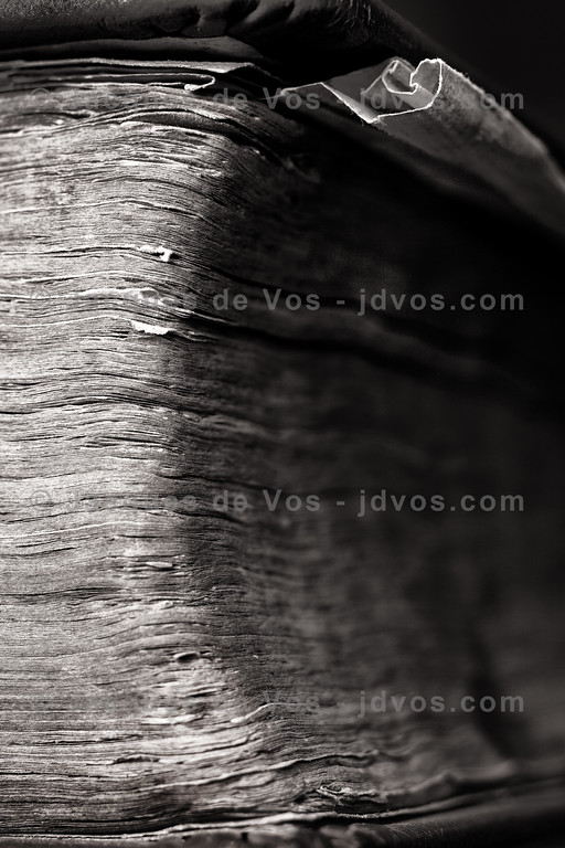 Old<br /> <br /> Film shot of an antique leather bound book.