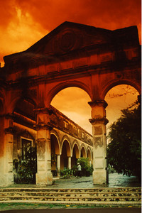Hacienda Yaxcopoil (Yucatan, Mexico) is a favorite place to photograph, it is one of those places where time stands still and imagination ignites.