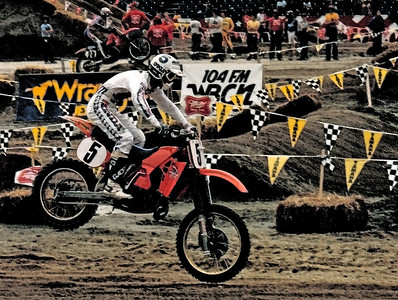 David Bailey - Foxboro Supercross 1985