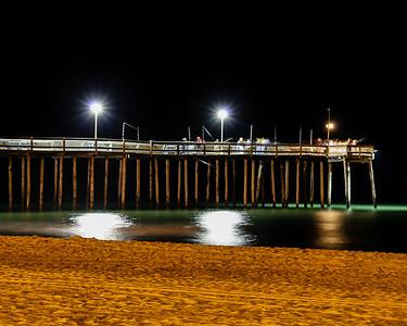 OC Fishing Pier at night