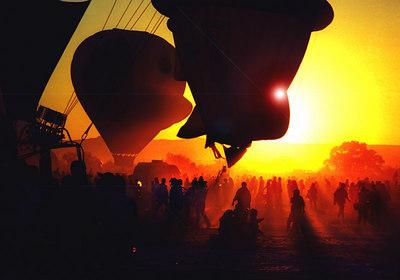 Mass Ascension - Albuqurque, New Mexico Balloon Fest