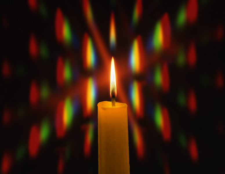 Diffracted Candle
