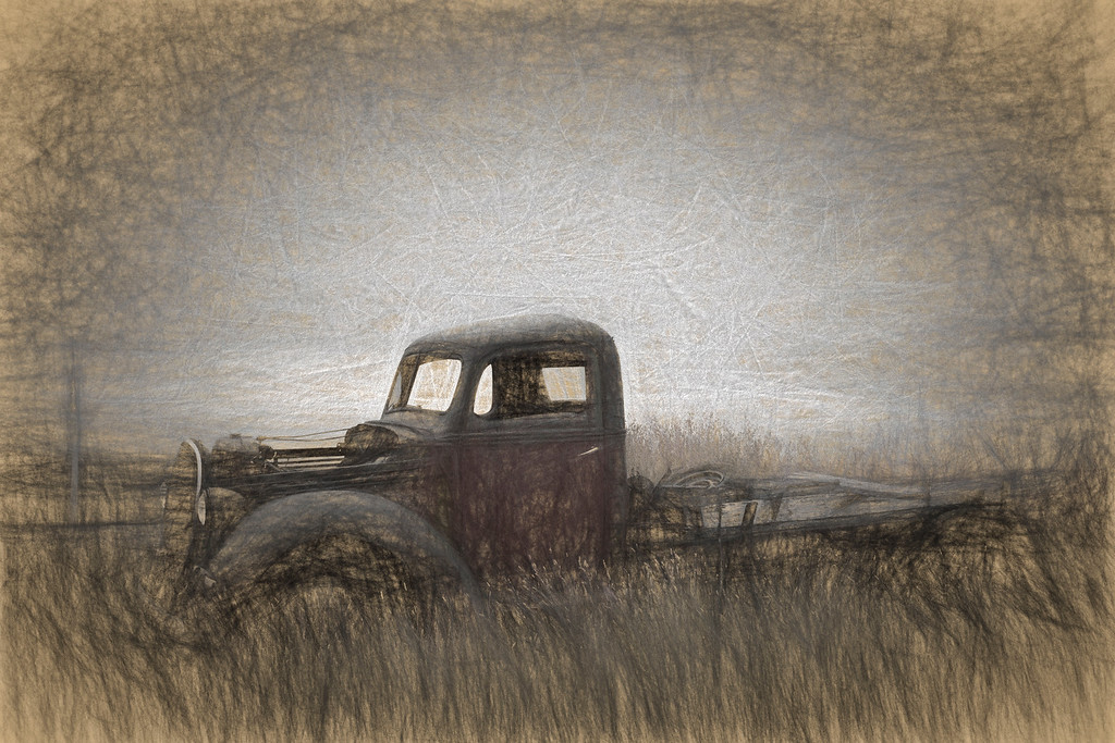 Abandoned Truck - Lethbridge